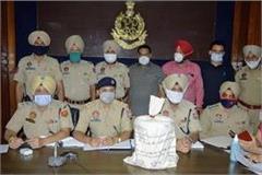 ferozepur police arrested a smuggler with heroin worth 33 crore 15 lakhs