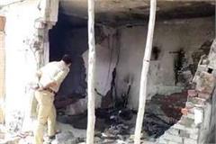 siddharthnagar explosion of inverter battery death of a young man