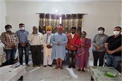dera chak hakim came forward for service