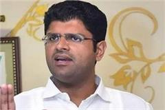 100 contractors to be given to district sonipat dushyant chautala