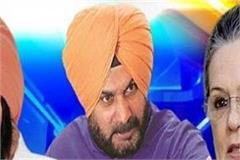 punjab congress reached high command for sidhu