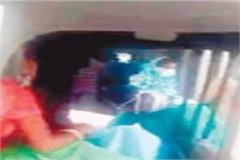 relative carry corona dead body in auto