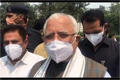 oxygen quota sufficient in haryana cm khattar
