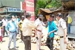 big action of vidisha administration