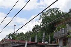 ht electric line pole damaged accident can happen anytime