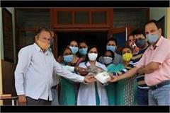 nursing staff honored on world nursing day