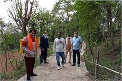 panchayat started corona free sanitization