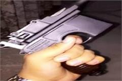 noida video of young man firing with illegal weapon goes viral
