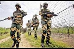 bsf killed pakistani intruder into indian border