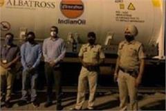 punjab s first oxygen express train leaves bokaro