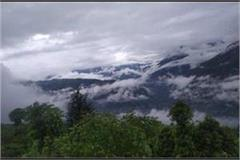 himachal receives rain snowfall and hailstorm
