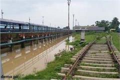 train operation stopped on samastipur darbhanga rail section