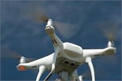 bsf firing on drone on indo pak border again