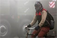 muzaffarnagar remains cold with 6 6 degree celsius temperature in up
