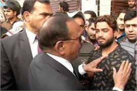 nsa doval in the streets of violence hit areas
