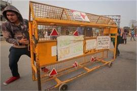 shaheen bagh protest protesters again shut delhi faridabad road