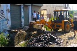 municipal corporation drive against illegal constructions