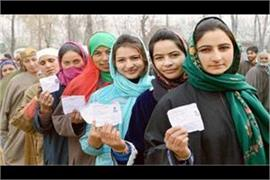 first phase of election in jamu kashmir on saturday