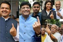 maharashtra assembly election voting continue