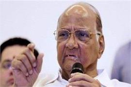 bjp has only one answer to all questions article 370 pawar