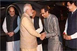 uddhav thackeray met pm narendra modi for the first time after becoming the cm