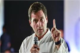 rahul targets the prime minister modi