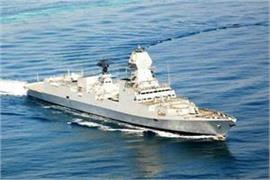 indian navy will get two warships part of parade today