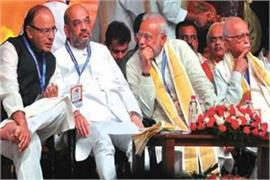 modi jaitley shah advani to vote in gujarat