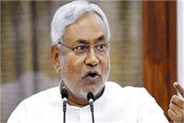nitish kumar has a simple silence on controversial rss charler