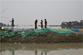 around 150 people died in floods in bihar and assam