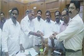 puducherry no confidence motion against the speaker of the assembly