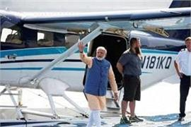 india first seaplane service closed for a few days