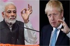 pm modi talks to uk prime minister boris johnson discuss these issues