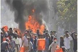 shivsena says delhi violence like horror movie