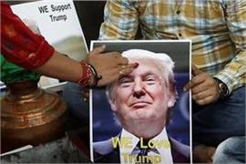 popularity of trump on rise in india