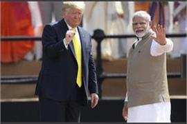 trump s hindi tweet after meeting pm said this is only the beginning