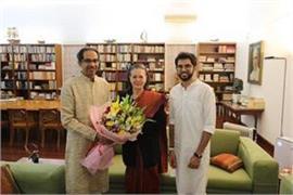 uddhav thackeray meets sonia gandhi thanks for cooperation