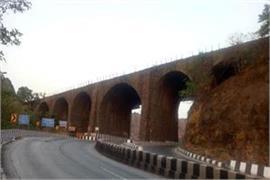 british era amritanjan bridge was demolished on mumbai pune expressway