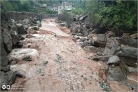 flash flood in poonch