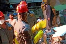 maharashtra 10 killed in building collapse in bhiwandi