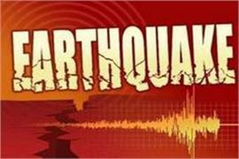 earthquake tremors in jammu and kashmir