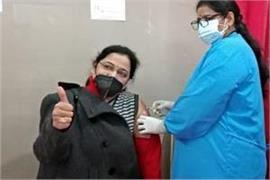 corona vaccine vaccination campaign started in samba district