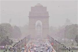 delhi s air quality also worsened increase in pollution levels