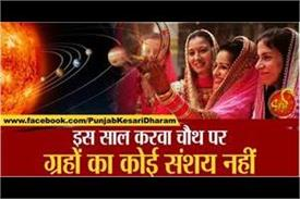 there is no doubt of planets on karva chauth this year