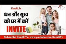 invite wealth and happiness at home