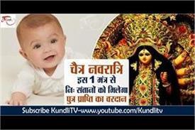 chaitra navratri special mantra