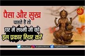 how to please goddess lakshmi