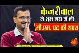 connection of kejriwa oath and astrology