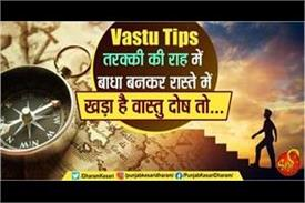 vastu dosh is standing in the way of success then do these remedies