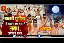 what is the janeu relationship with shravani purnima